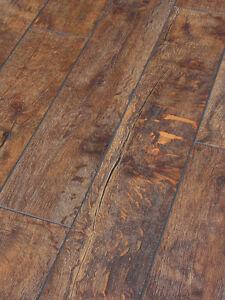 Distressed Oak Laminate Flooring