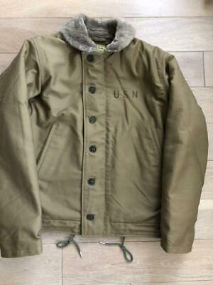BUZZ RICKSON'S Authentic N-1 Deck Jacket Size s New Unused for sale  Shipping to Ireland