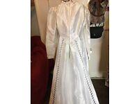 Genuine Vintage Harrod's Wedding Dress