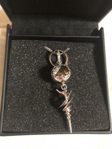 Genuine Final Fantasy XIII FF13-2 SERAH FARRON Engagement Necklace Pendant USED