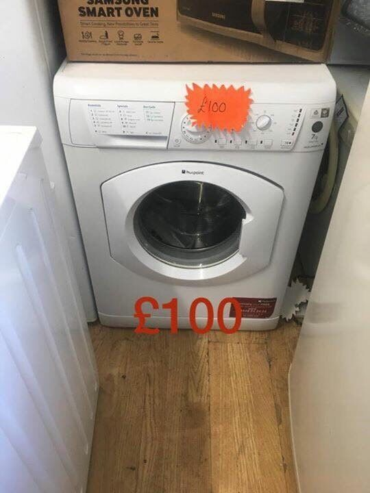 Hotpoint washing machine 7kg 1200 spin