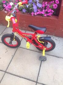 """Dinosaur bike 12"""" wheel"""