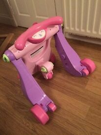 Baby walker/activity station/trike