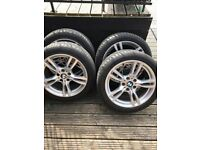 "Genuine BMW 3 series f30/f31 18"" alloy wheels"