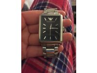 Men's Armani watch.
