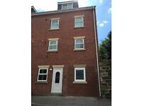 Modern town centre house with quality rooms to let
