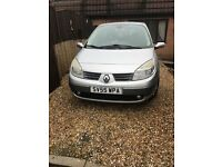 Renault scenic 55 plate 7 seater