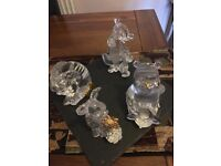 Lenox Disney crystal collection. Winnie the Pooh and friends