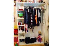 Wardrobe/shop fitting