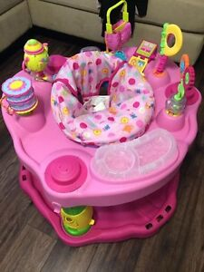 Pink play saucer