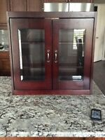 Cherrywood bathroom cabinet