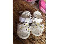 Size 2 summer shoes (baby)