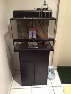 Exo Terra Tank/Cabinet + Accessories Riverhills Brisbane South West Preview