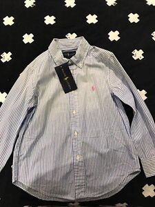 Polo Ralph Lauren Shirt size 5 new with tags Green Valley Liverpool Area Preview