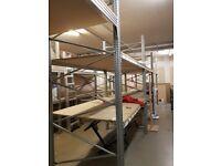 pallet racks/shelving