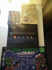 Assorted board game lot