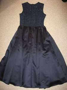 Jessica Mclintock Navy Blue Tea Length Mother of the Bride Dress Kitchener / Waterloo Kitchener Area image 5