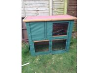 Two Tier Rabbit Hutch including All Weather Cover!