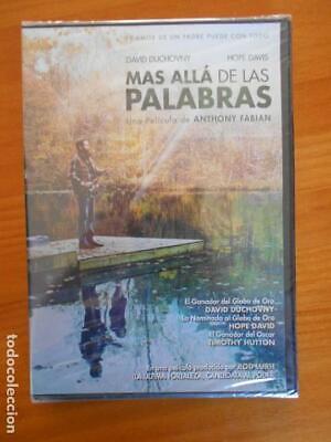 DVD MAS ALLA DE LAS PALABRAS - ANTHONY FABIAN - DAVID DUCHOVNY...
