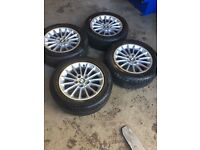 """BMW 5 Series Set of alloy wheels and tyres 16"""""""