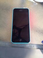 Baby blue IPhone 5s 16 gb locked to Virgin mobile $150 OBO