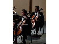 Private 'cello and piano teacher at £42 per hour
