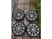 Genuine BMW M3 E90 - Wheels + Tyres x4