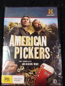 American pickers seasons 1,2,3,4 & 6 brand new sealed $60 Cessnock Cessnock Area Preview