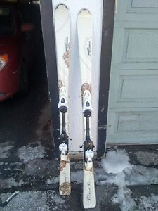 Selling skis, boots, and helmet