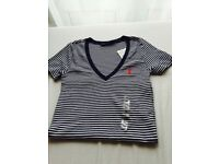 NEW! With tags, 100% Genuine Ralph Polo Lauren t-shirts for ladies
