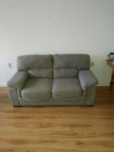 couch- grey, 2 seats