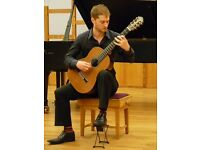 Classical guitarist for weddings and events