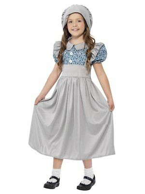 Pilgrim Costume Girl (PIONEER CHILD PILGRIM COLONIAL PRAIRIE VICTORIAN SCHOOL GIRL KIDS COSTUME)