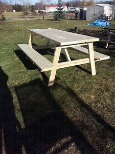 6ft picnic tables! Just in time for spring get yours today!!