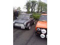 Fully restored classic mini
