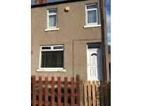 Two bedroomed end terraced house