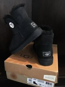 Authentic brand new women's black UGG boots