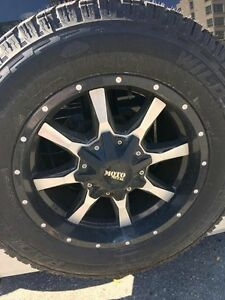 Moto Metal Rims with Tires