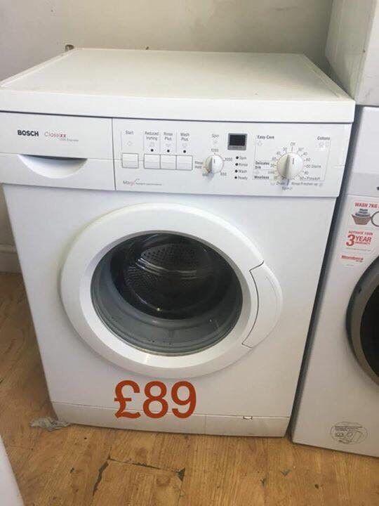 Bosch washing machine 6kg 1200 spin