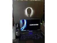 DELL ALIENWARE GAMING LAPTOP, 17.3 INCH SCREEN, I7 PROCESSOR, 24GB RAM