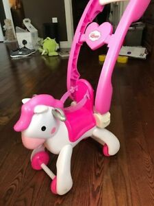 Doll Rocking Horse/Stroller & Doll Accessories