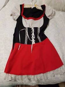 Costume outfits - Dress ups - MAID, OCTOBERFEST, Cheerleader Safety Bay Rockingham Area Preview