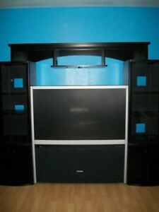 Entertainment Stand & TV