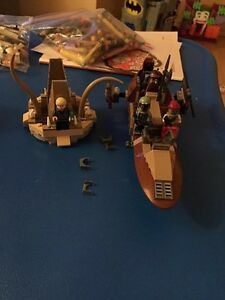 Star Wars Lego - Clone Trooper Battle Pack & Desert Skiff