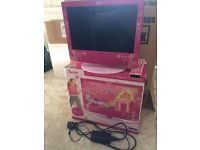 15.4 inch Barbie TV DVD Player combo