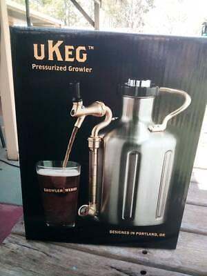 GrowlerWerks uKeg 128 Pressurized Growler for Craft Beer