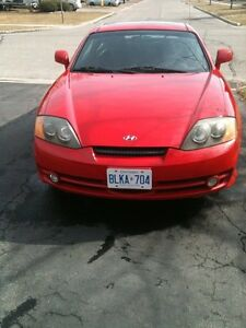 2003 Hyundai Tiburon se 2.0L 4 cylse 2.0L 4 cyl