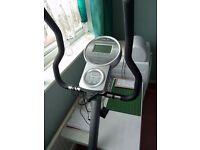 Reebok Exercise bike digital display.