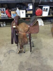 "13"" Reinsman Barrel Saddle"