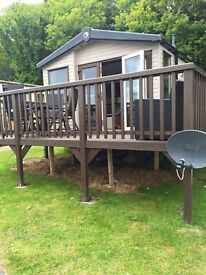 Lydstep static caravan Swift Moselle 2014 Bay View inc 2017 site fees